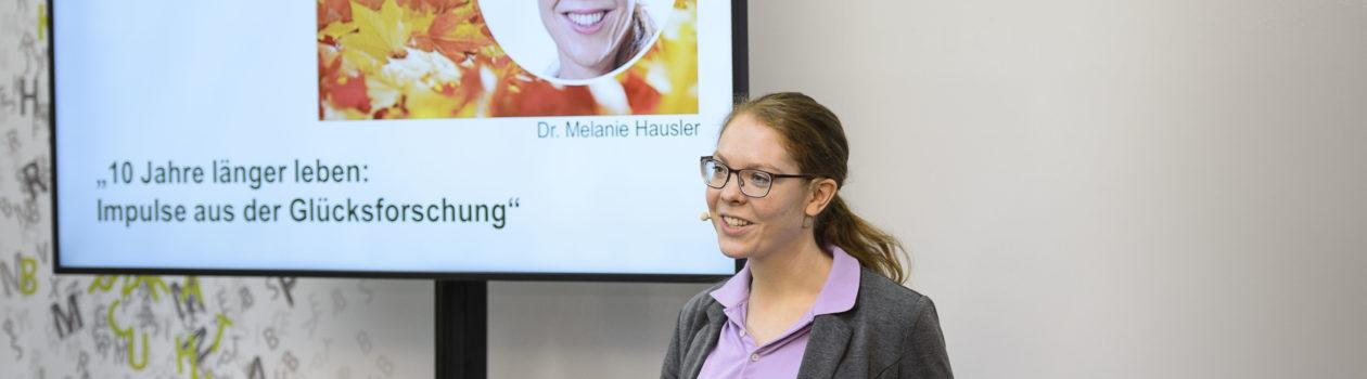 Vortrag Glücksforschung Dr. Hausler